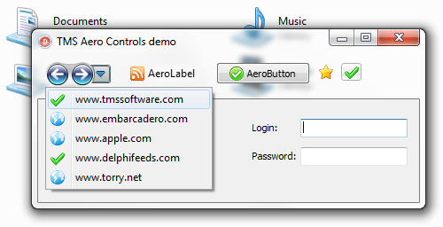 TMS Aero Controls Pack Screen shot