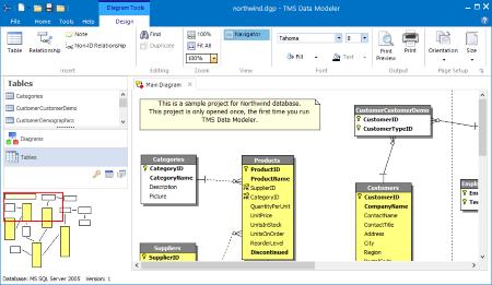 TMS Data Modeler 3.3