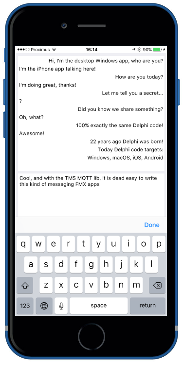 TMS Software | Blog | Cross platform messaging made easy