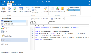 TMS Data Modeler