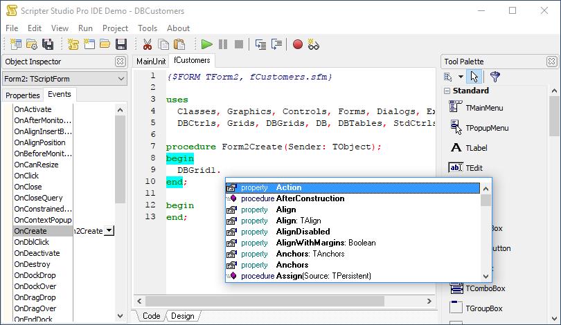 TMS Software | VCL, FMX, ASP NET,  NET controls & components