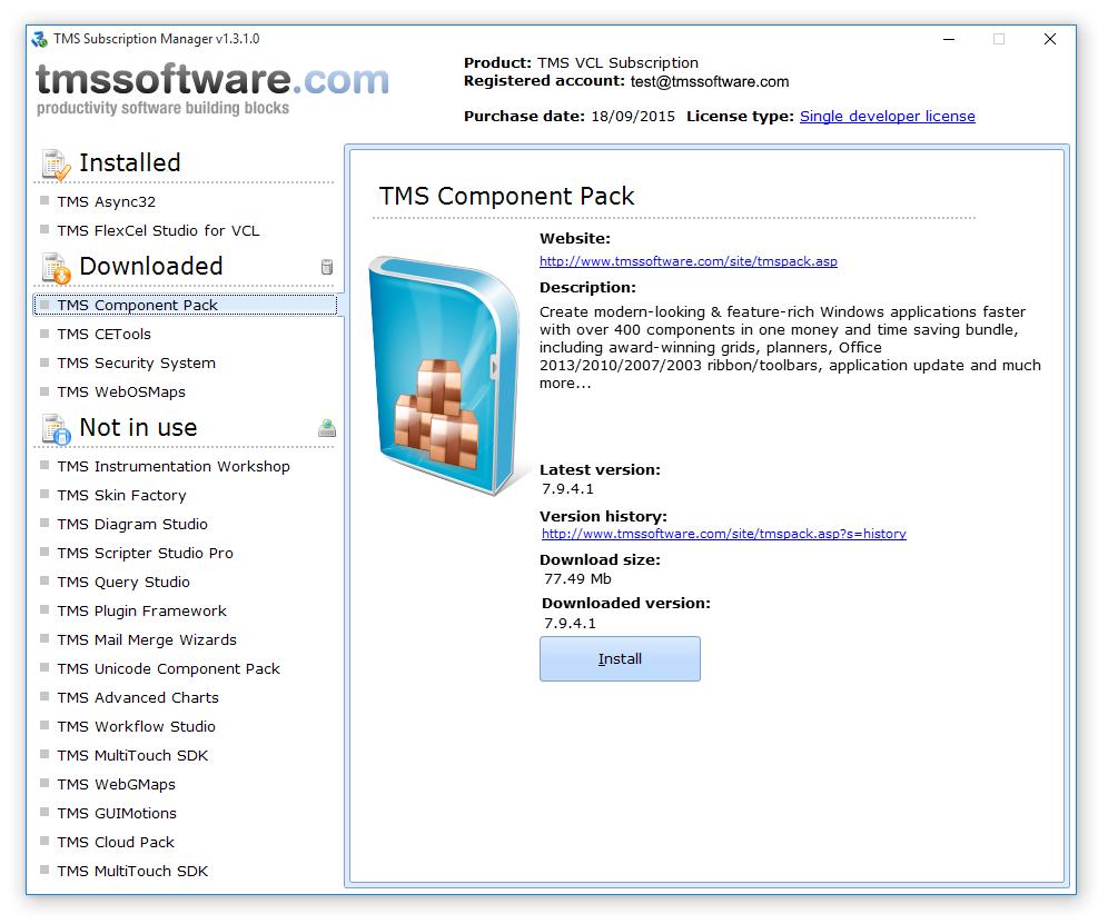TMS Software | ALERT