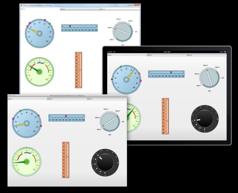 TMS Instrumentation WorkShop for FireMonkey full screenshot