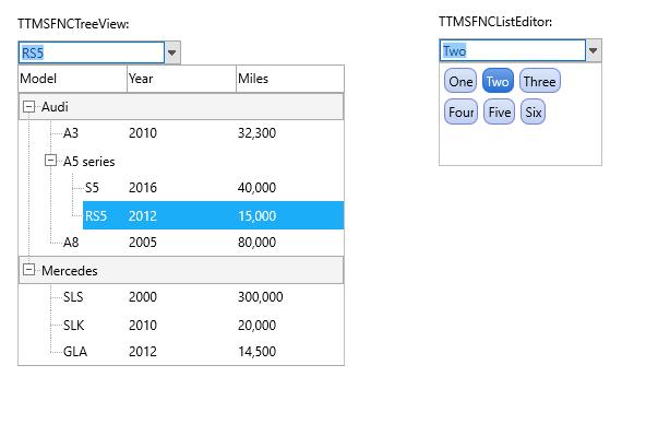 TMS Software Delphi  Components