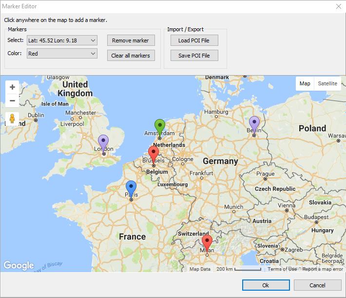 TMS Software VCL FMX ASPNET NET Controls Components For - Germany map json