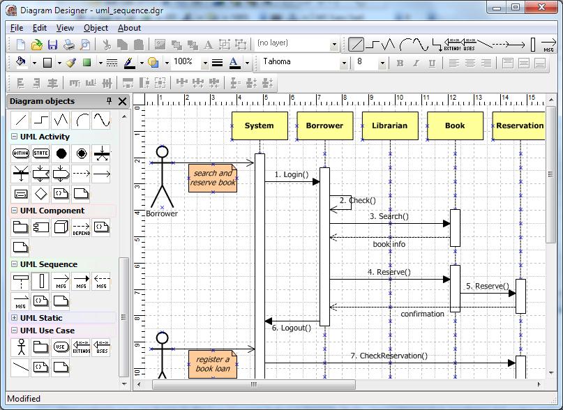 tms diagram studio - Visio 2010 Uml Sequence Diagram