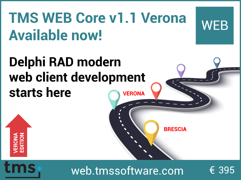 TMS WEB Core v1.1 Verona Edition