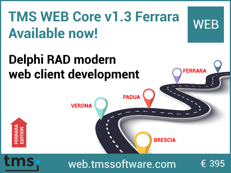 TMS Software | VCL, FMX, ASP NET,  NET controls & components for